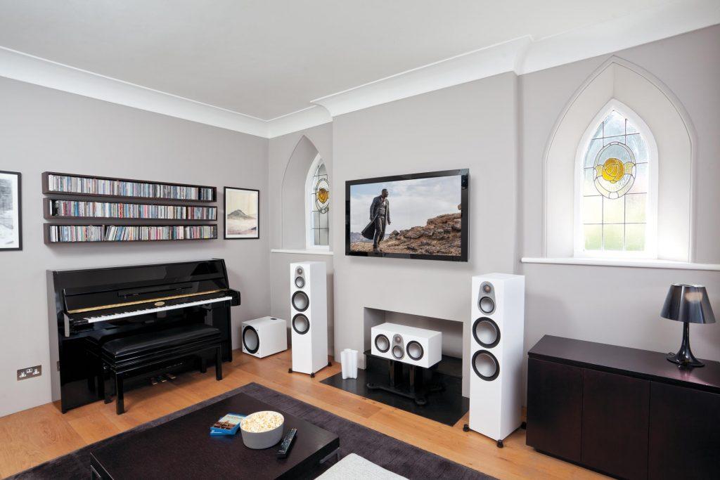 Silver Fullset Sonido Monitor Audio